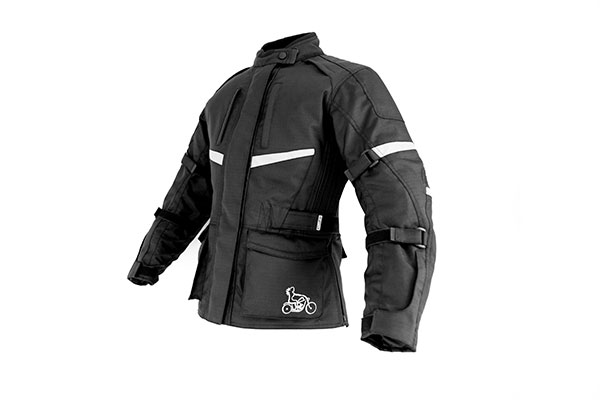 Product photography, motorbike jacket
