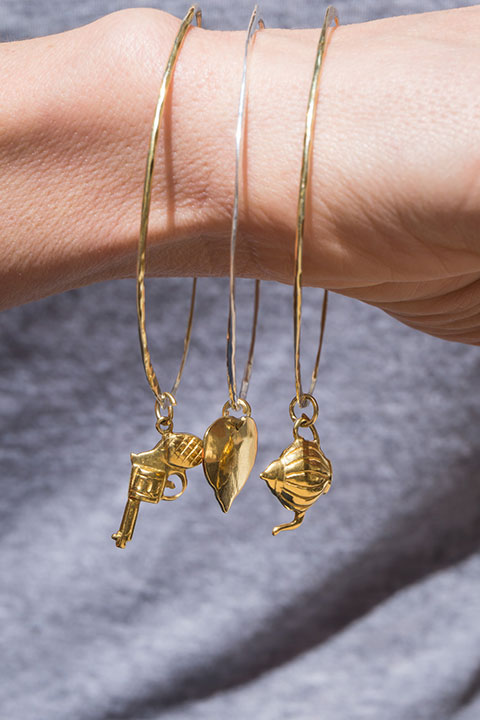 Product Photography Earrings