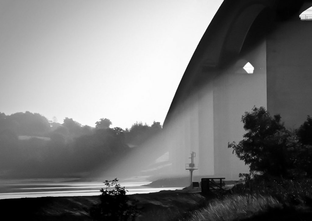 Suffolk Landscape Photography, the Orwell Bridge