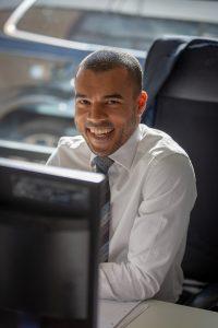 Portrait Corporate Headshots using natural light Suffolk Photographer