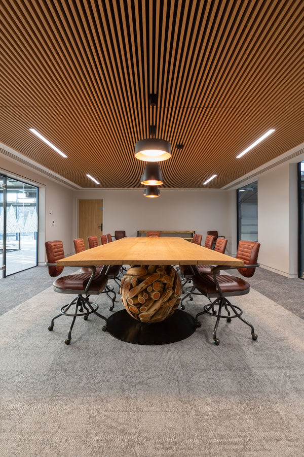 Commercial Interior Property Photography - Office Boardroom -Ipswich Suffolk