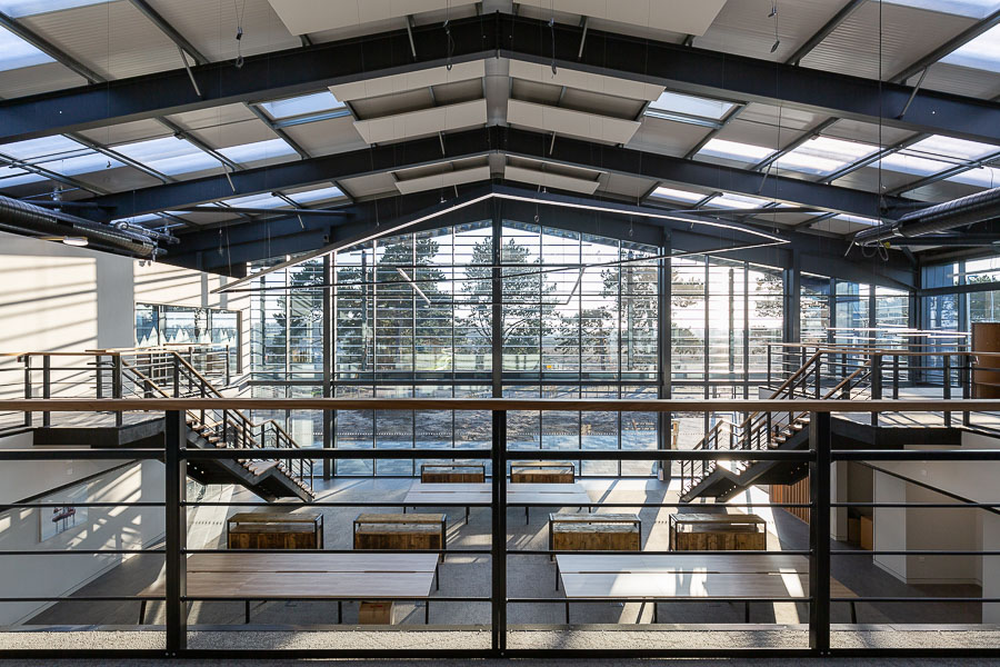 Natural light in interior and commercial property