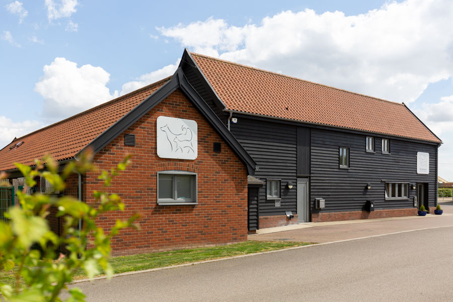 Commercial property Photography of Christchurch Vets - Ipswich Suffolk