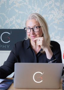 Personal Brand Portrait and corporate headshot of Cherry Beesley the Suffolk photographer behind Simply C Photography