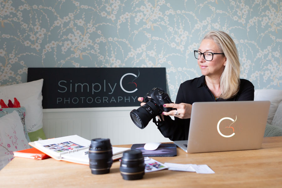 Personal Brand photograph of Cherry of Simply C Photography Suffolk Commercial Photographer