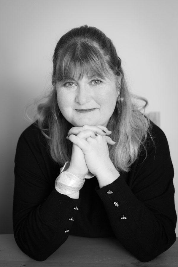 Author Portrait and headshot in mono