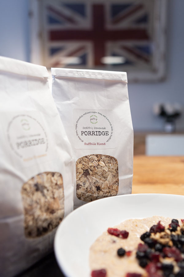Food photography of Homemade Porridge