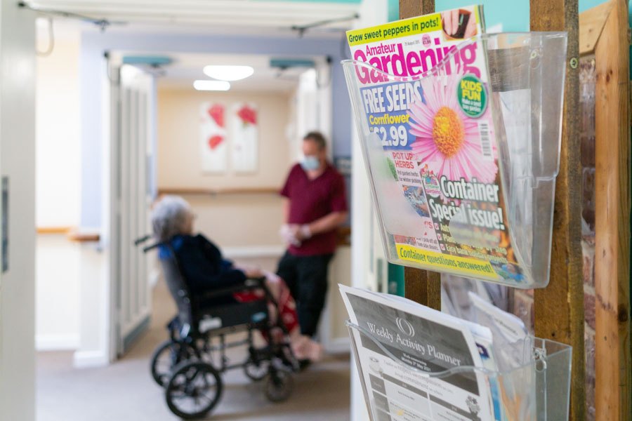 Commercial Branding Phototgaphy of a Care Home