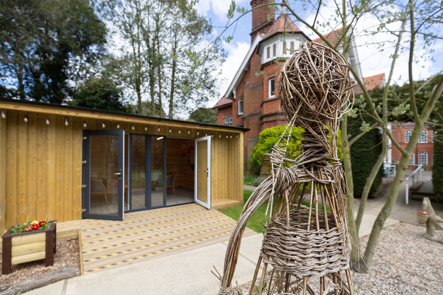Outside Visitors Pod in every Care Home