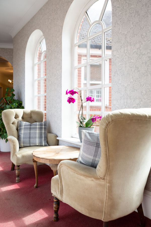Interior Photograph of a Care Home in Suffolk