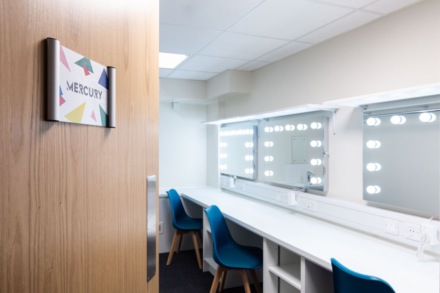 Changing Rooms at The Theatre