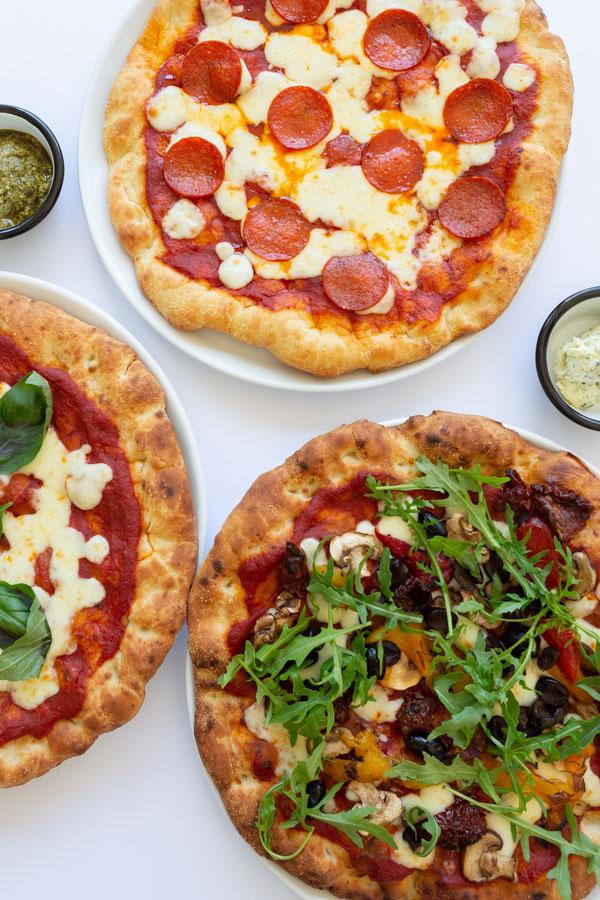 Food photoshoot of Pizza restaurant in Banham Zoo